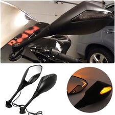 LED Turn Signal Side Mirrors For Motor Sport Bike Honda 2011-13 CBR250R CBR600RR