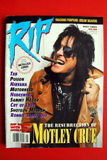 Motley Crue Cover Alice In Chains Poster '94 Dio Motorhead Nirvana Rip Magazine