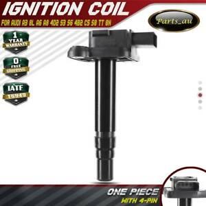 Ignition Coil for Audi A3 8L A6 A8 4D2 S3 S6 4B2 C5 S8 TT 8N 1998-2005 1.8L 4.2L
