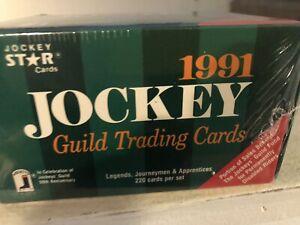 1991 JOCKEY Guild TRADING CARDS FULL BOX  SEALED 220 cards /set