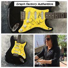 GFA Stevens McGrath Morrison * BILLY IDOL BAND * Signed Electric Guitar COA