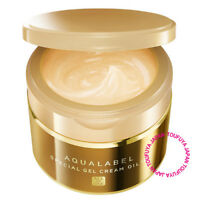New Shiseido AQUALABEL Special Gel Cream Oil In 5in1 Moisturizer For Lines 90g