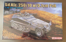 DRAGON 6139 - Sd.Kfz.250/10 w/3.7cm Pak - 1/35 PLASTIC KIT