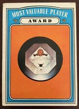 1972 Topps Baseball High Numbers Most Valuable Player Award #622