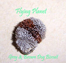 Dog Biscuit Flies Top Quality UK Tied Deer Hair Flies Carp Mullet Garfish Trout