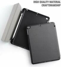 For Apple iPad 9.7 2018 inch Tablet Model Folio Case Cover Stand Black