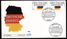 Bund 1477-78 FDC, Deutsche Einheit