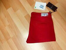 NWT Mens Armani Jeans P20CG Stretch Chino Jeans Red Slim W36 L34 H7 RRP£145