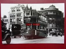 PHOTO  LONDON TRANSPORT TRAM  NO 575 2/7/38 ON ROUTE 77
