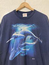 New listing Vintage Maui Whales Single Stitch Graphic T Shirt Size Xl
