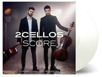 2CELLOS - SCORE (LIMITED WHITE VINYL)  2 VINYL LP NEW!