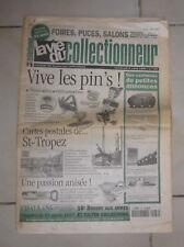 LA VIE DU COLLECTIONNEUR 187 1997 VIVE LES PIN'S CP DE ST TROPEZ PASSION ANISEE