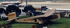 Rohrbach Roland High-Wing Monoplane Aircraft Mahogany Dried Wood Model Large New