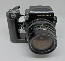 Zenza Bronica ETR + 1:4 f = 40mm 1:2,8 f = 75mm + kaseta Polaroid