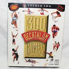 3DO Games Decathlon Factory Sealed PC game CD-ROM 1996 for Windows 95