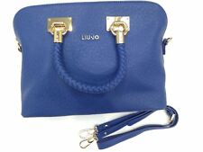 Liu Jo Damenhandtasche Shopping Anna M Kunstleder blau A14039e0087-93950