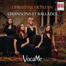 VOCAME - CHRISTINE DE PIZAN  CD NEW!