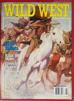 Wild West Magazine August 1992 - Little Bighorn - Elfego Baca - No Label - NM