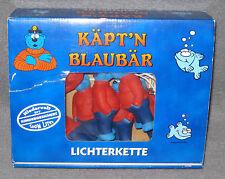 Käpt´n Blaubär Lichterkette Lichtgirlande Kette 10 leuchtende Blaubären Fun Lite