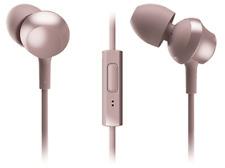 Auriculares botón - Panasonic RP-TCM360, rosa, alámbrico, con micrófono