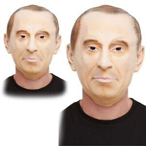 Vladimir Poutine Masque President Policitcal Costume Déguisement Accessoire
