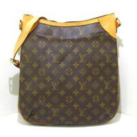 Auth LOUIS VUITTON Odeon MM M56389 Monogram VI2078 Womens Shoulder Bag
