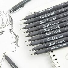 Fine Point Liner Pens Technical Animation Waterproof Micro Drawing Pencil Supply