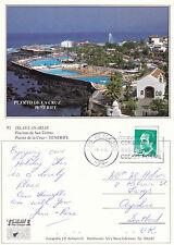 1993 PUERTO DE LA CRUZ TENERIFE CANARIES SPAIN COLOUR POSTCARD