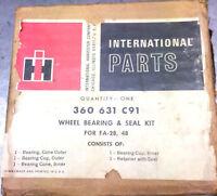 International Truck front axle FA 28 , 48 NOS / NEW  Hub bearing kit  360631C91