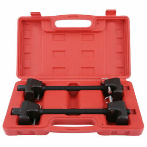 Coil Spring Compressor Heavy Duty Tool Suspension Clamp 2pcs Kit With Case 022B