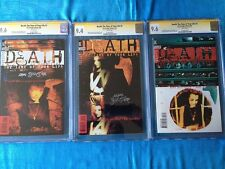 Death: Time of Your Life #1-3 - Dc -Cgc Ss 9.6 9.4 -Signed by Mark Buckingham