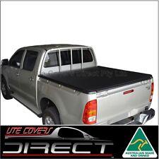 Tonneau Cover to suit Toyota Hilux Dual Cab JDeck Apr2005-Aug2015 ClipOn