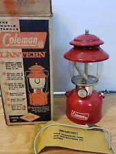 coleman 200a 7 67 unfired box vintage lantern camping