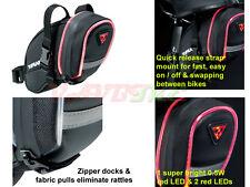 Topeak Aero Wedge iGlow Bicycle Saddle Bag with Strap Mount . Small