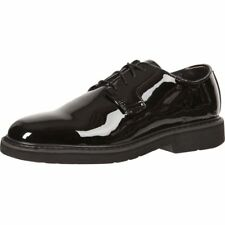 Rocky Work Shoes Mens High Gloss Leather Oxford 9 ME Black FQ00510-8