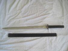 pre-owned Sword w/ sheath Black Galaxy Ninja style Bud K BK - 385 Pakistan