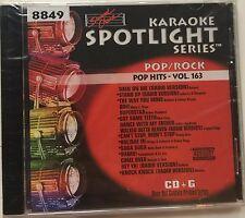 Sound Choice Spotlight Karaoke 8849 Pop Hits Vol. 163 CDG  SC8849 Pop