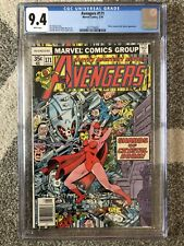 AVENGERS #171 CGC 9.4 WHITE PAGE DEATH OF ULTRON, JOCASTA & MS MARVEL APPEARANCE