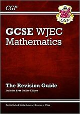 New WJEC GCSE Maths Revision Guide (with Online Edition) (... New Paperback Book