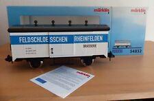 "Märklin Spur 1 MAXI Bierwagen ""FELDSCHLOESSCHEN RHEINFELDEN"" (54832) , neu, OVP"
