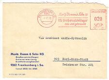 AFS, Moritz Damm & Sohn KG, Kfz Großersatzteillager, o Frankenberg, 9262, 7.7.72