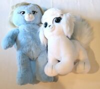 Build A Bear Limited Edition CINDERELLA Blue Bear and Cinderella's Dog