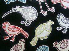 New Zealand Native Life-Quilting Fabric  .50cm = 2 fat quarters
