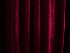Large Thick Velvet Curtains 1200x230cm with full liner 60 hooks Burgundy New