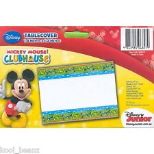 Mickey Mouse Birthday Party Supplies Plastic Table Cover Cloth 1.8m x 1.3m