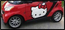 Hello Kitty Puerta de Coche Pegatinas Mini Coche Smart Pegatinas