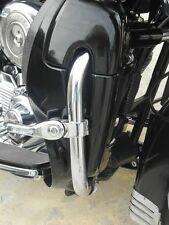 Black Lockable Lower Vented Fairing with Mounting kit for Harley HD Touring