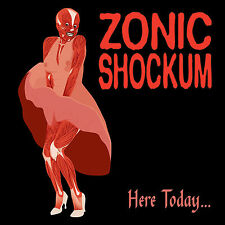 ZONIC SHOCKUM Here Today CD girl punk indie rock alternative philly philadelphia