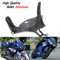 Black Upper Front Fairing Cowl Stay Headlight Bracket For Yamaha YZF R1 2004 2005 2006