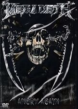 NEW DVD // MEGADETH - ANGRY AGAIN - 20 TRACKS- LIVE IN 2012 + 2011